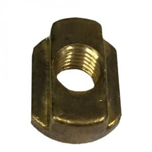 Brass Nut, M8 Thread for Foil Boards